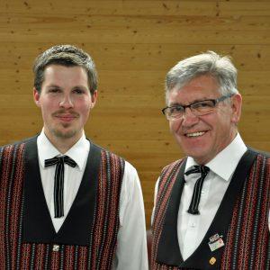 Männerchor mit Jodel und Solisten