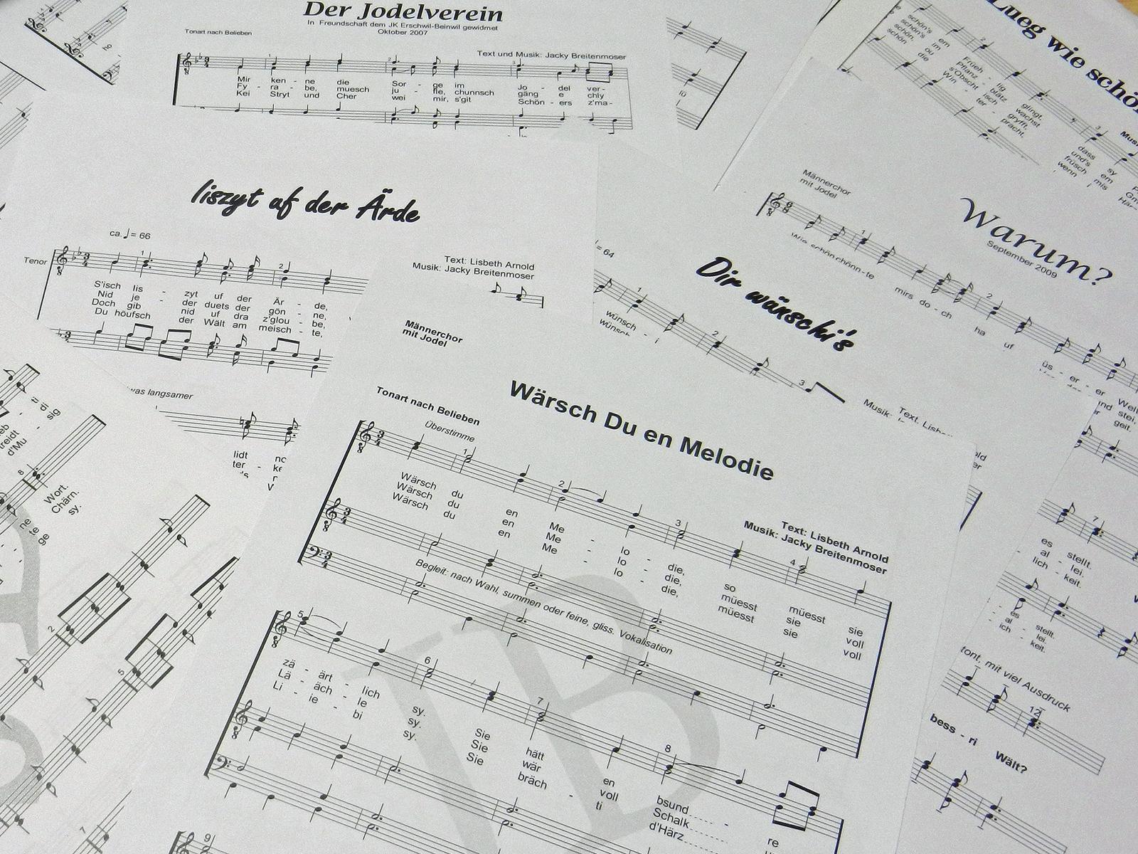 Partituren_Kompositionen